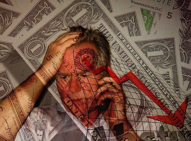 zadlužený muž