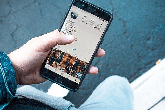 sledování instagramu
