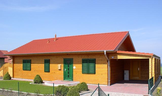 dřevěný rodinný dům