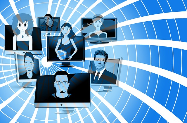 komunikace online