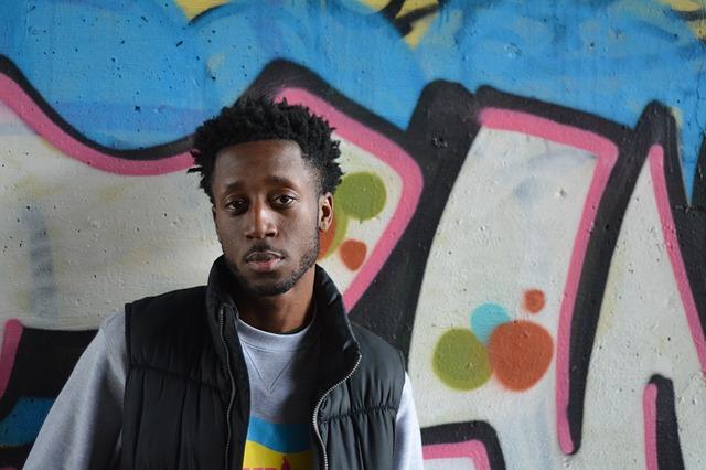 černoch a grafiti