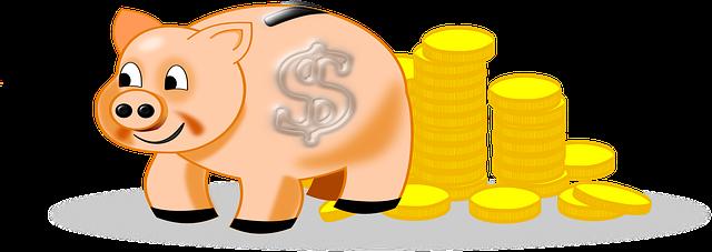 spoření peněz do prasátka