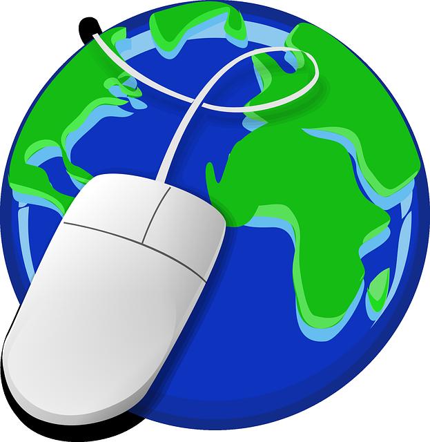 zeměkoule, myš