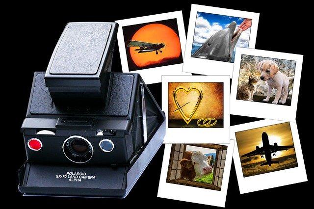 Vytáhněte starý Polaroid a pojďte fotit!