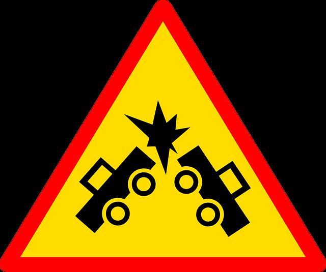 značka nehody