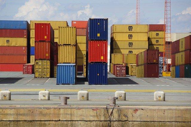 kontejnery na přepravu