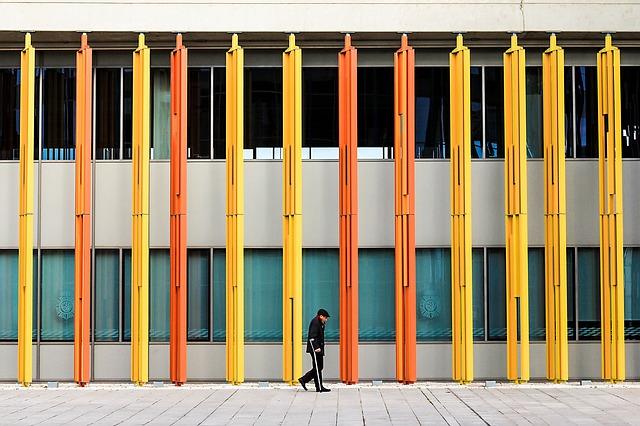 barevná architektura