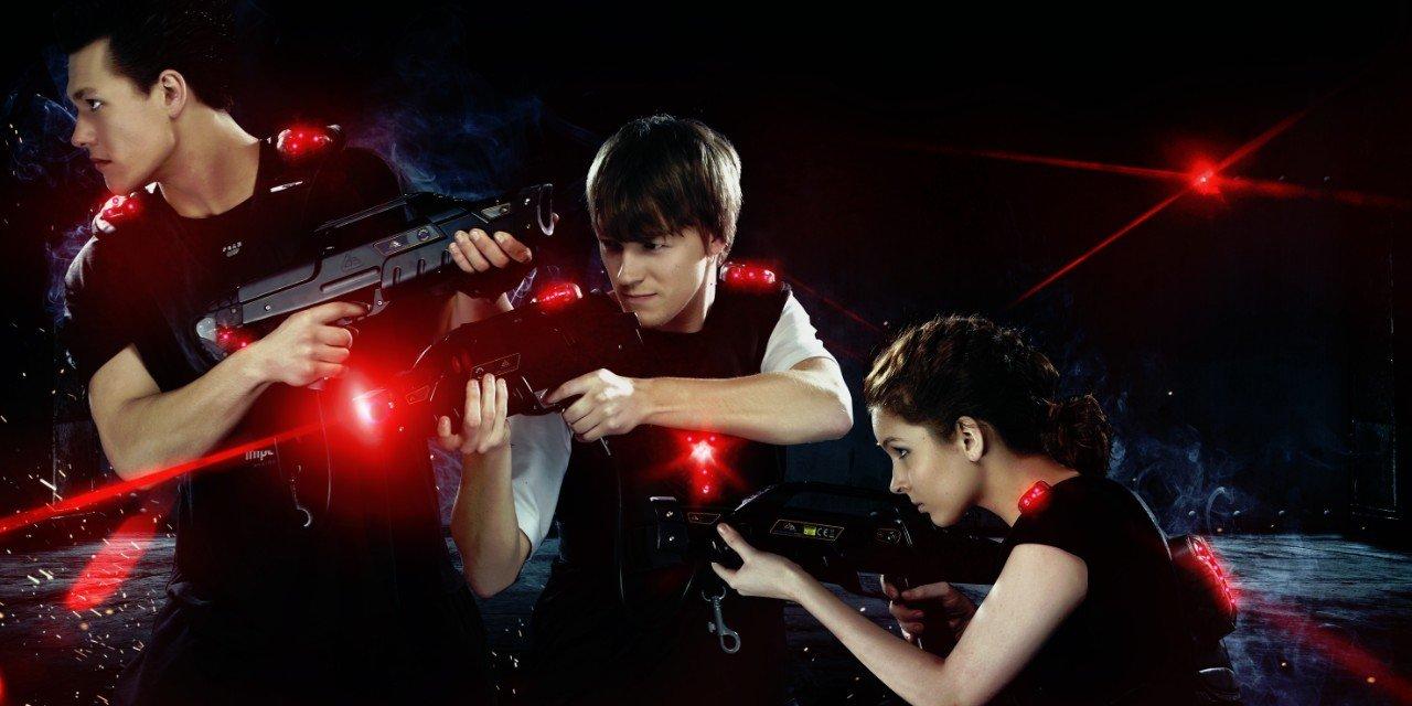 Laserová střílečka, která vás chytne a nepustí