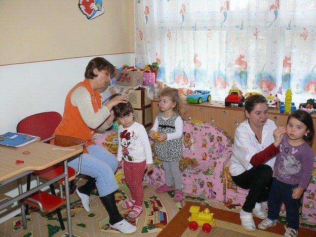 péče o děti ve školce