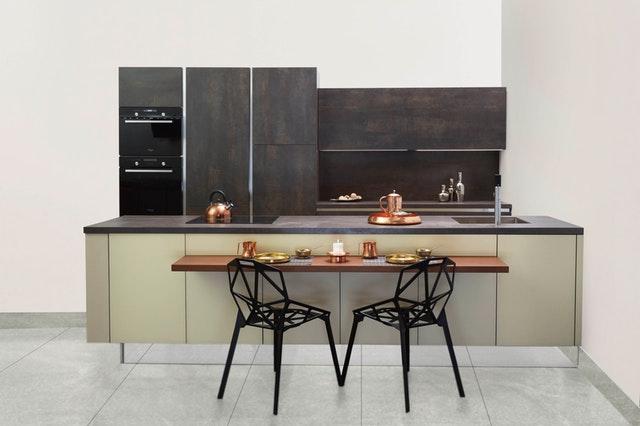 kuchyně v mobilním domě