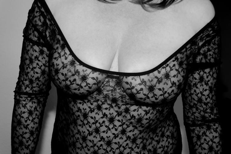 v erotickém prádle
