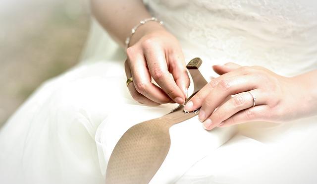 nevěsta, svatební střevíc