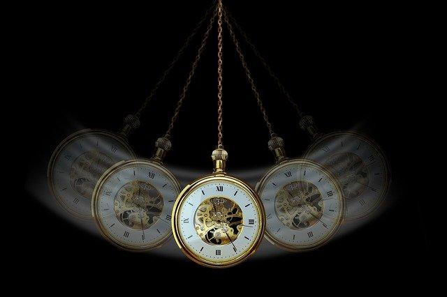 Hodiny - hlavní pomůcka k hypnóze