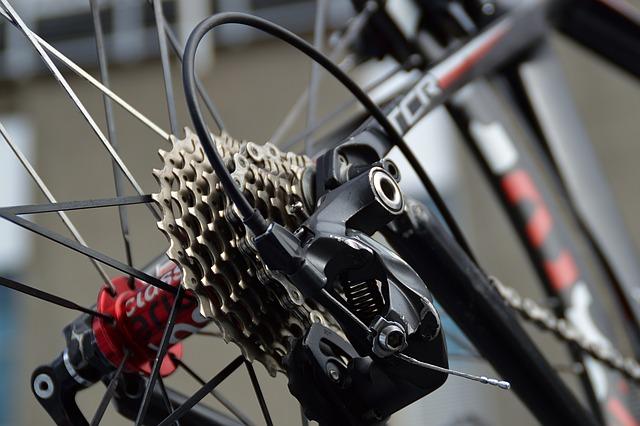 převody na jízdním kole ozubená kola